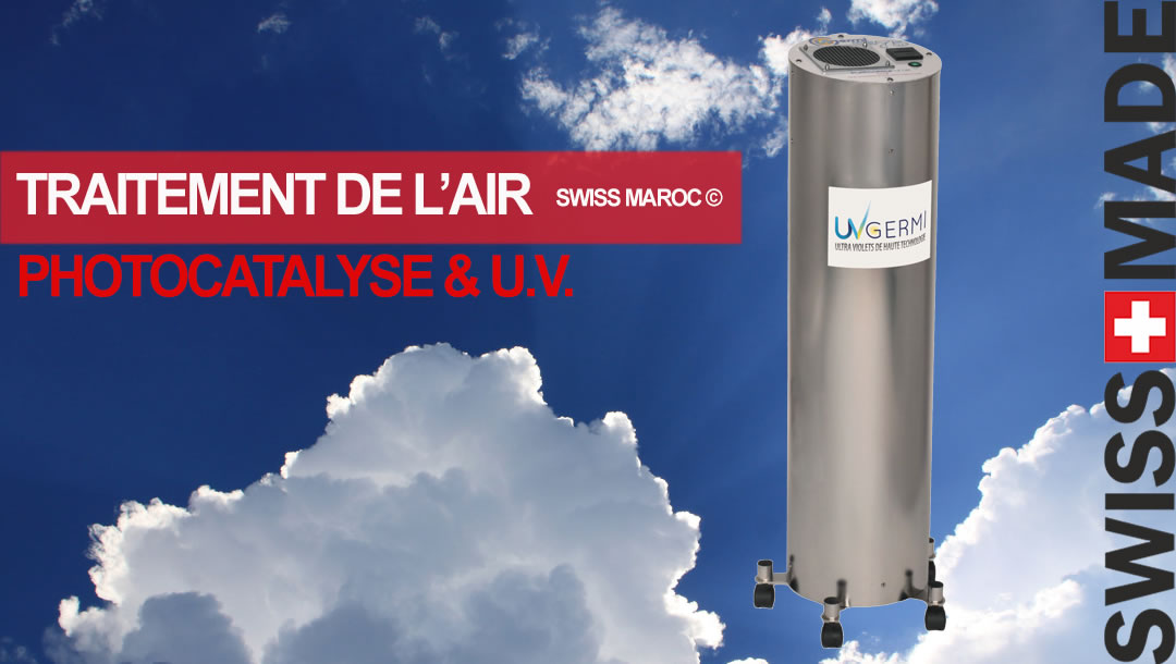 TRAITEMENT DE L'AIR PAR PHOTOCATALYSE & UV